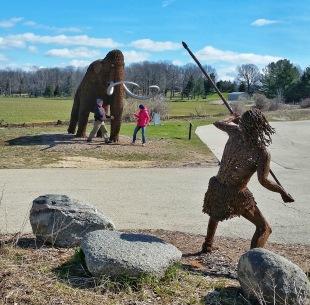 Battling a Woolly Mammoth, as we do near Horicon Marsh